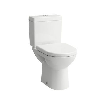 824956 - Laufen Pro Floorstanding Close Coupled Open-Back WC / Toilet - 8.2495.6